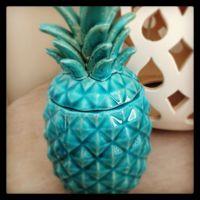 Teal pineapple decor. Love | Pineapple Kitchen | Pinterest ...