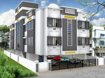 Residential Building Elevation Design