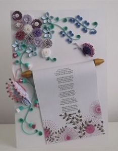 Find this pin and more on paper quilling quilled wedding card also nature inspired marriage certificate beautiful rh pinterest