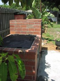 Build Your Own Brick BBQ Smoker | BBQ | Pinterest | Brick ...