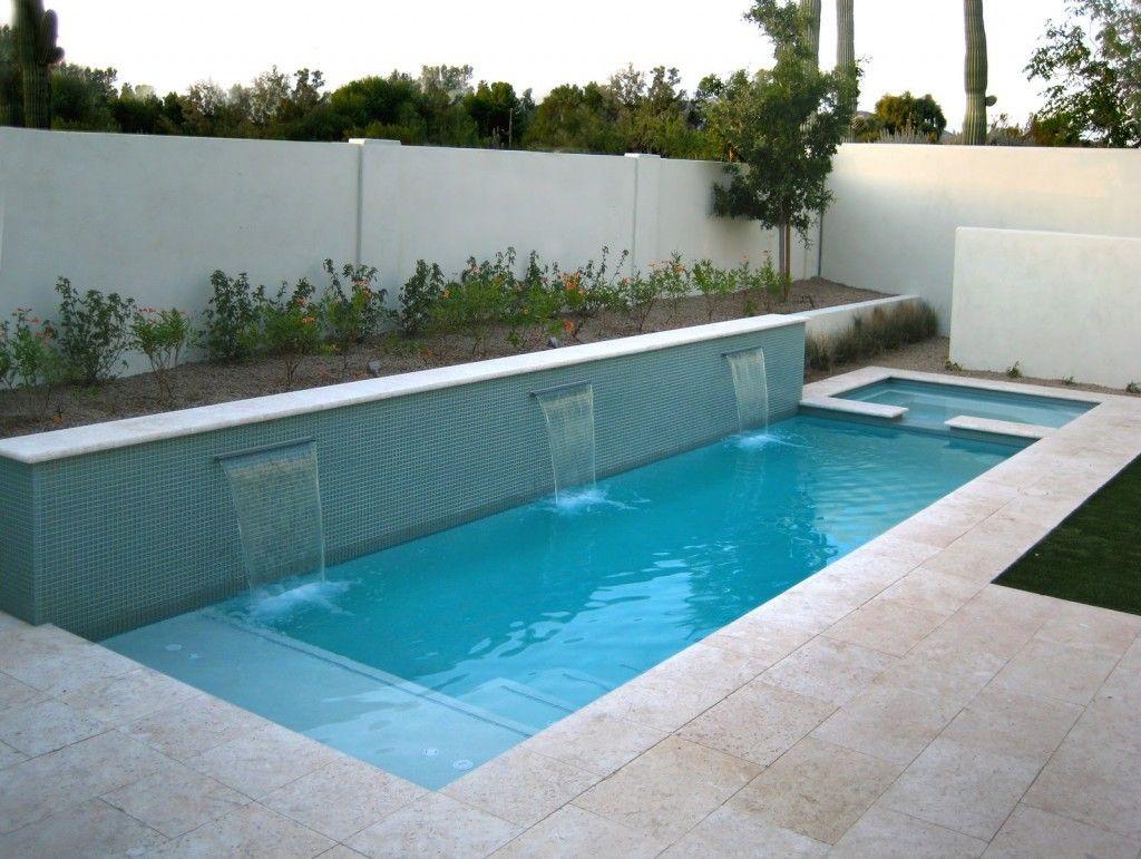 small inflatable swimming pool  backyard ideas  Pinterest  Small backyard pools Backyard and