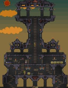 Terraria house ideas designs also pinterest rh