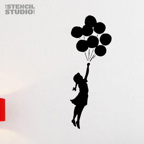 Cupcake Pin Girl Stencils
