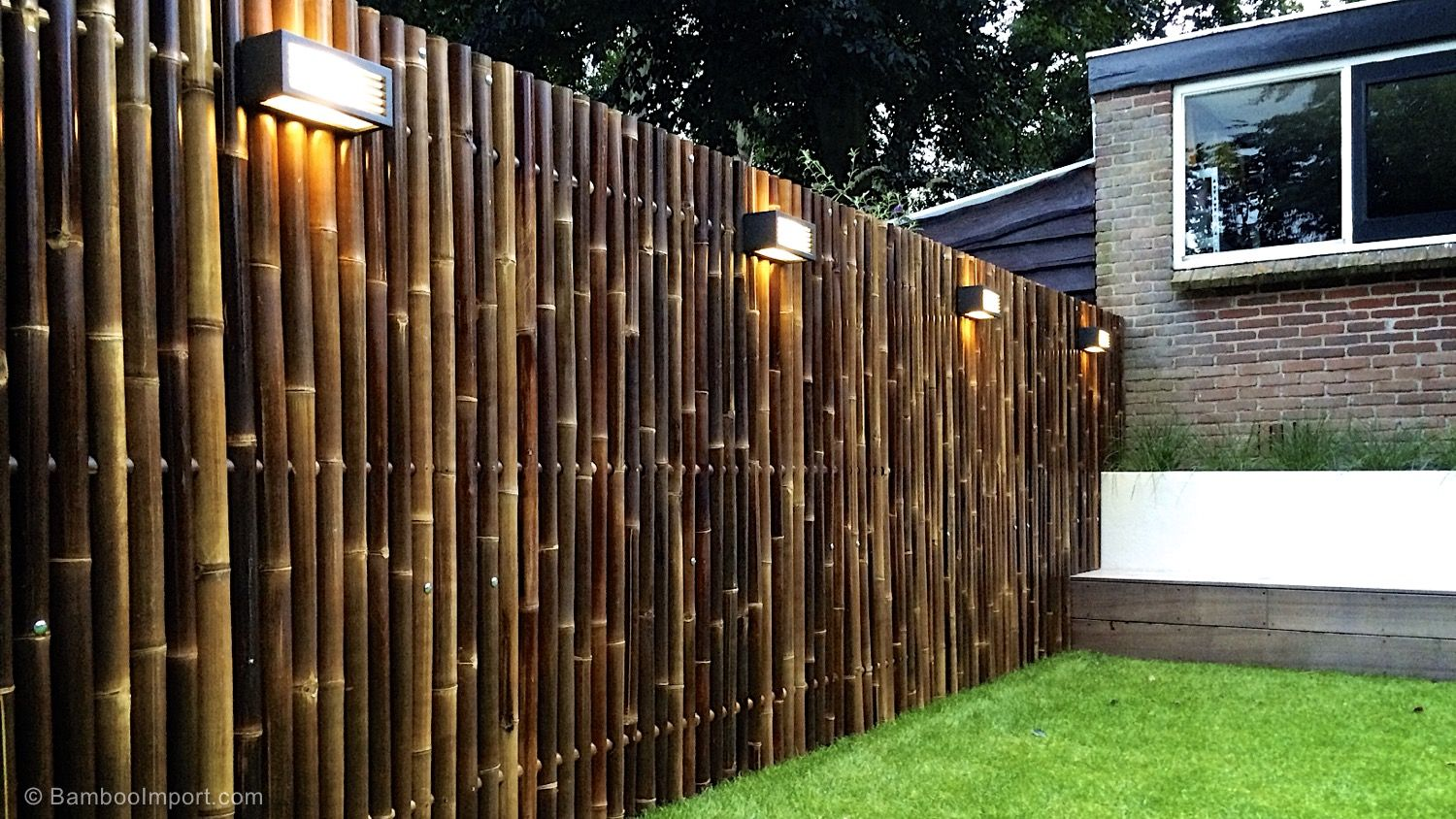 Bamboo Use Exterior Siding