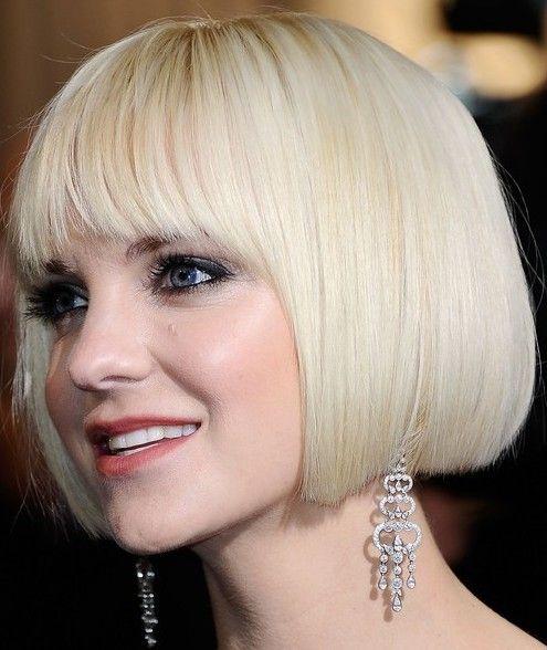 Anna Faris Classic Bob Hairstyle Bob Hairstyles 2012 2013