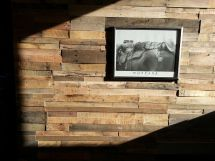 Recycled Pallet Wood Wall Panels Sustainable Lumber