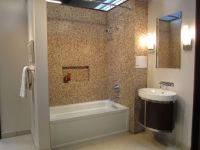 bathrooms - Tile, from, the, Tile, Shop, Glass tile tub ...