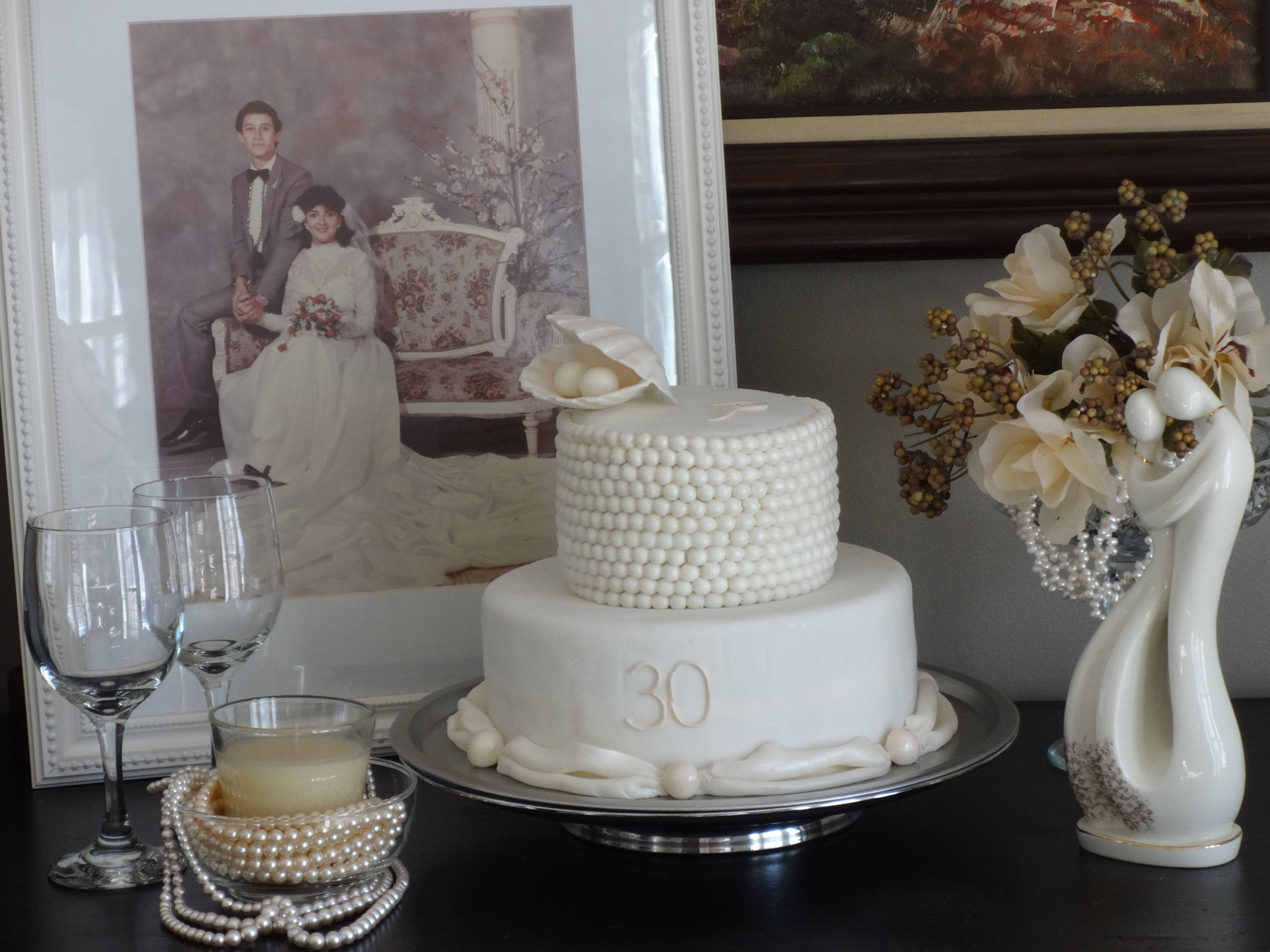 30th Pearl Wedding Anniversary 30th Wedding Anniversary