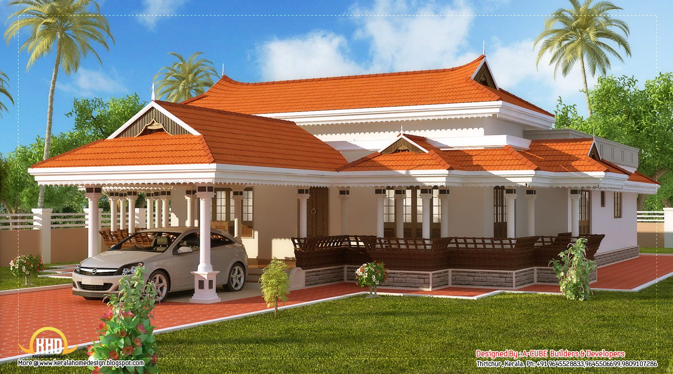 Indian Design Houses Kerala Model House Design 2292 Sq Ft