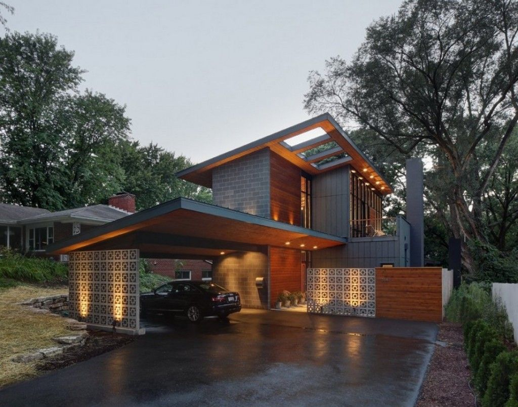 Architecture Midvale Courtyard House Architecture With Wooden