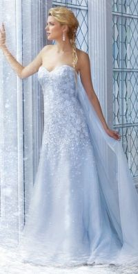 Elsa's wedding dress, from Alfred Angelo | *~ Fairytales ...