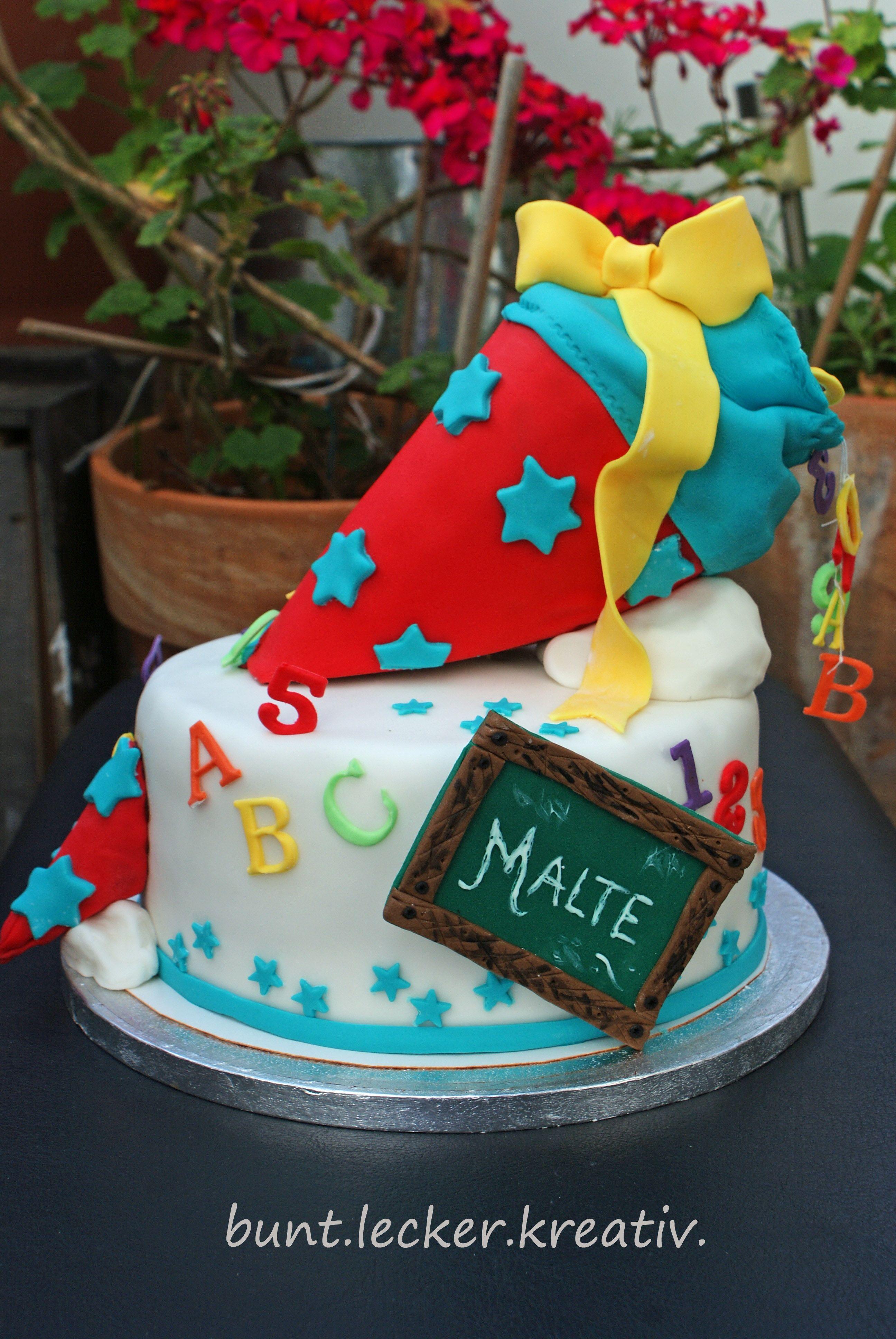 Torte zum Schulanfangcake for School start  Meine