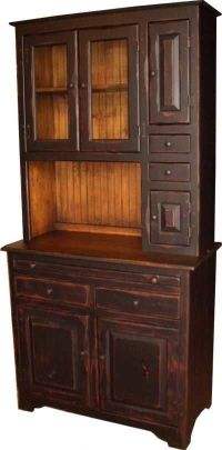 Primitive Hoosier Cabinets for Sale   Amish Handcrafted ...