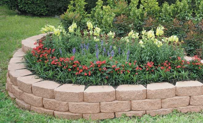 Outdoor Stone Wall Designs Anchor™ Windsor Stone® Retaining Wall