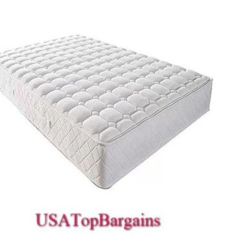8 Inch Coil Spring Mattress Twin Size Bed Bedroom Comfortable Adjust Durable