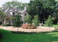 gravel circular driveway landscape design ideas ...