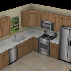 Kitchen Design Layout Ideas Sink With Faucet 10x10 On Pinterest L Shaped