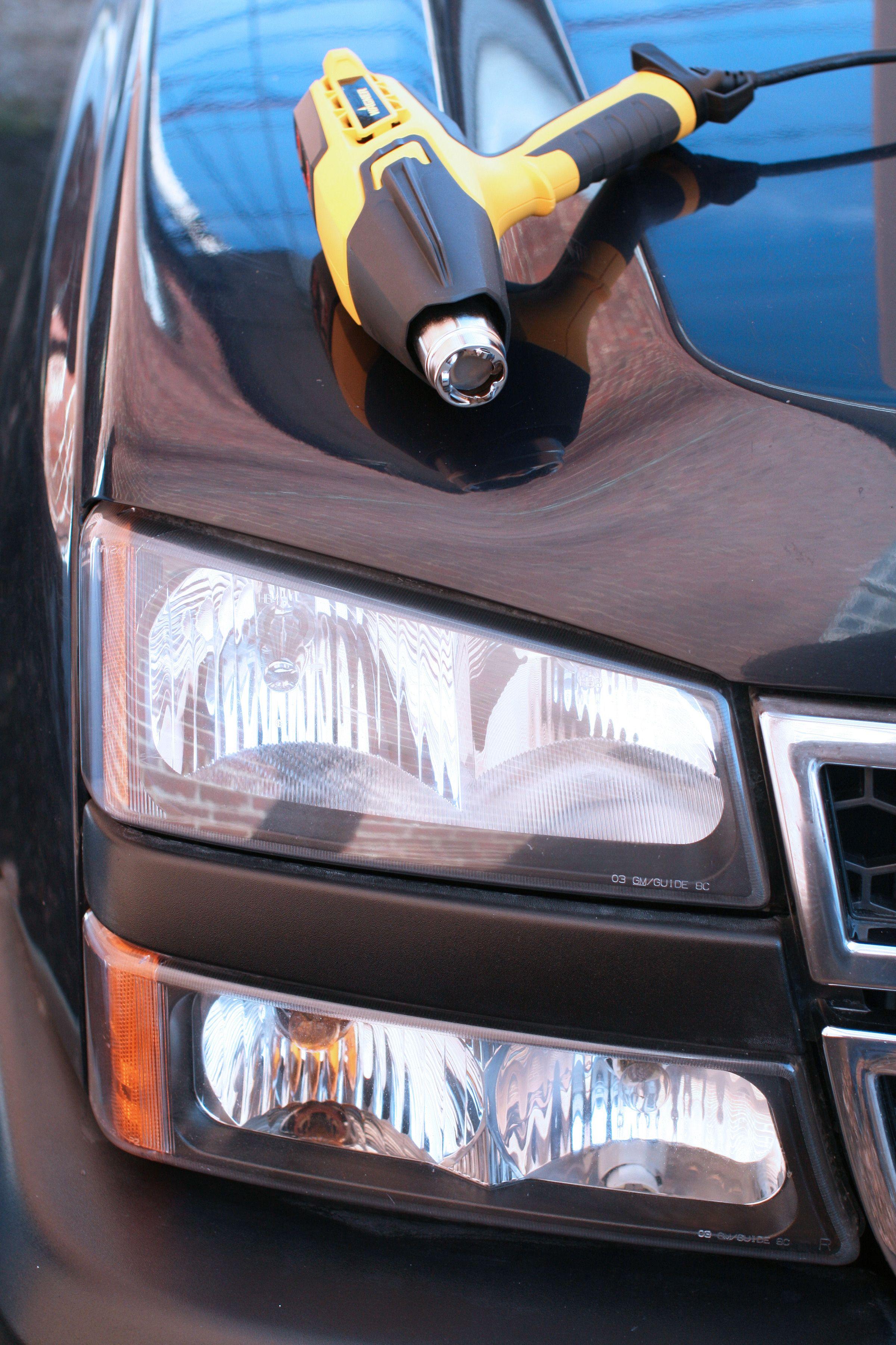 How To Fix Foggy Car Headlights With A Heat Gun Tips