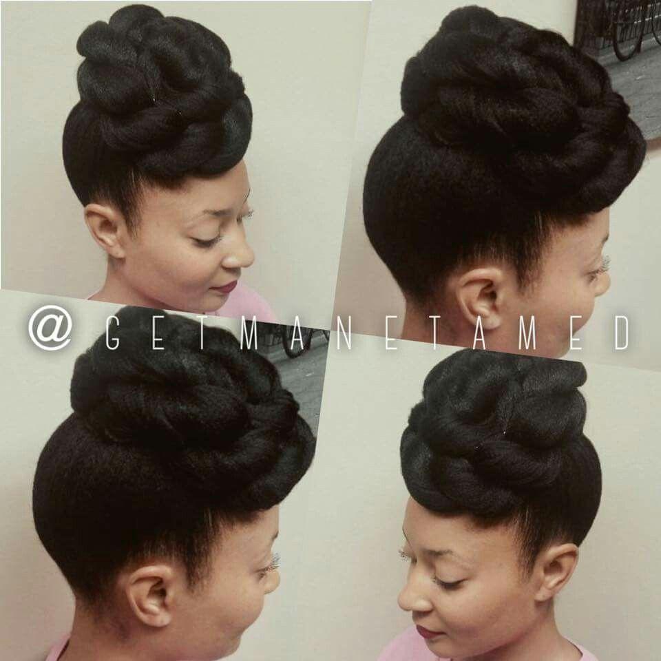 Pin up. Popmpadour. Updos. Natural hair updos. Weddings