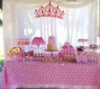 Princess Baby Shower Theme Ideas Ba Girls Shower With ...