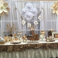 Rustic and Vintage baby shower Baby Shower Party Ideas