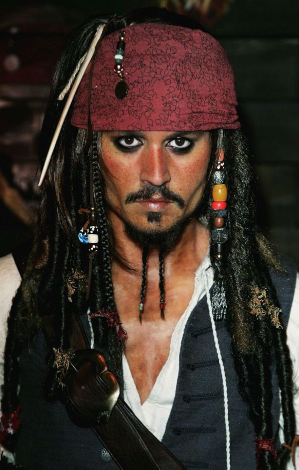 Johnny Depp Jack Sparrow Close Mix Of Jd Stuff Costume