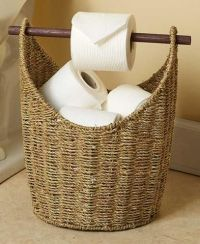 Toilet Paper Dispenser and Storage Magazine Rack Bathroom ...