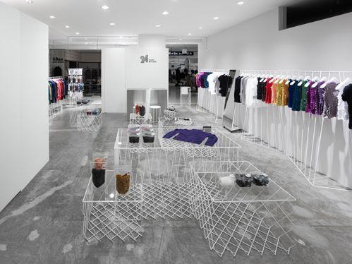 Steel Materials Shop Boutique Interior Design Progetti Da