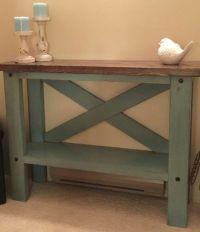 Farmhouse Sofa Table | DYI Furniture | Pinterest | Rustic ...