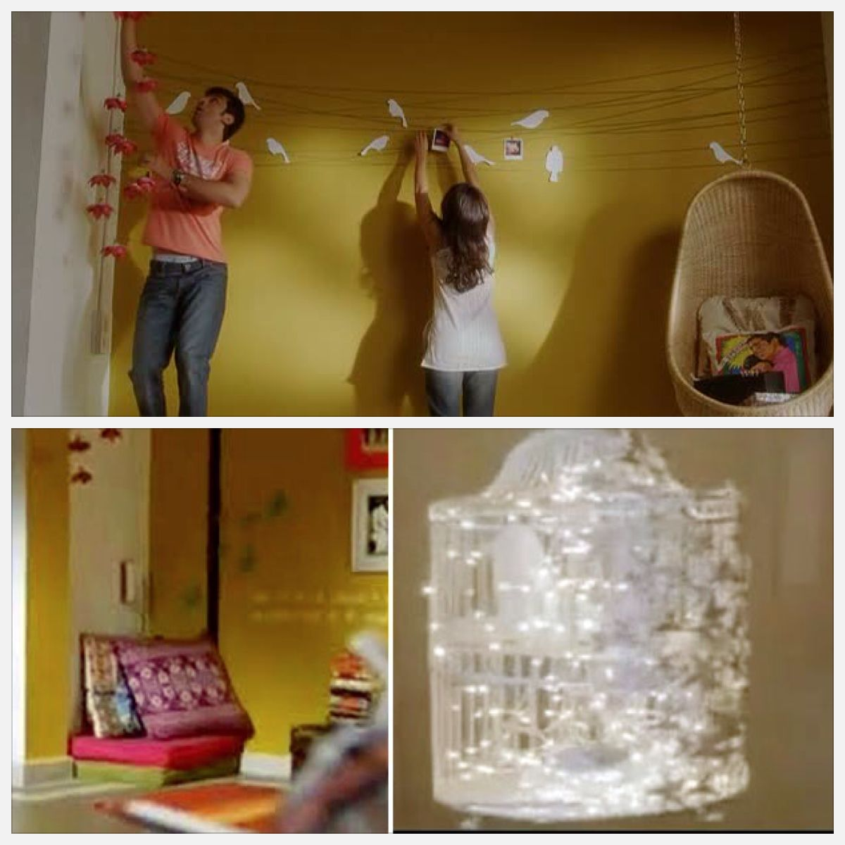 "Apartment In ""Wake Up Sid"" Room Pinterest Amoureux Chaises"