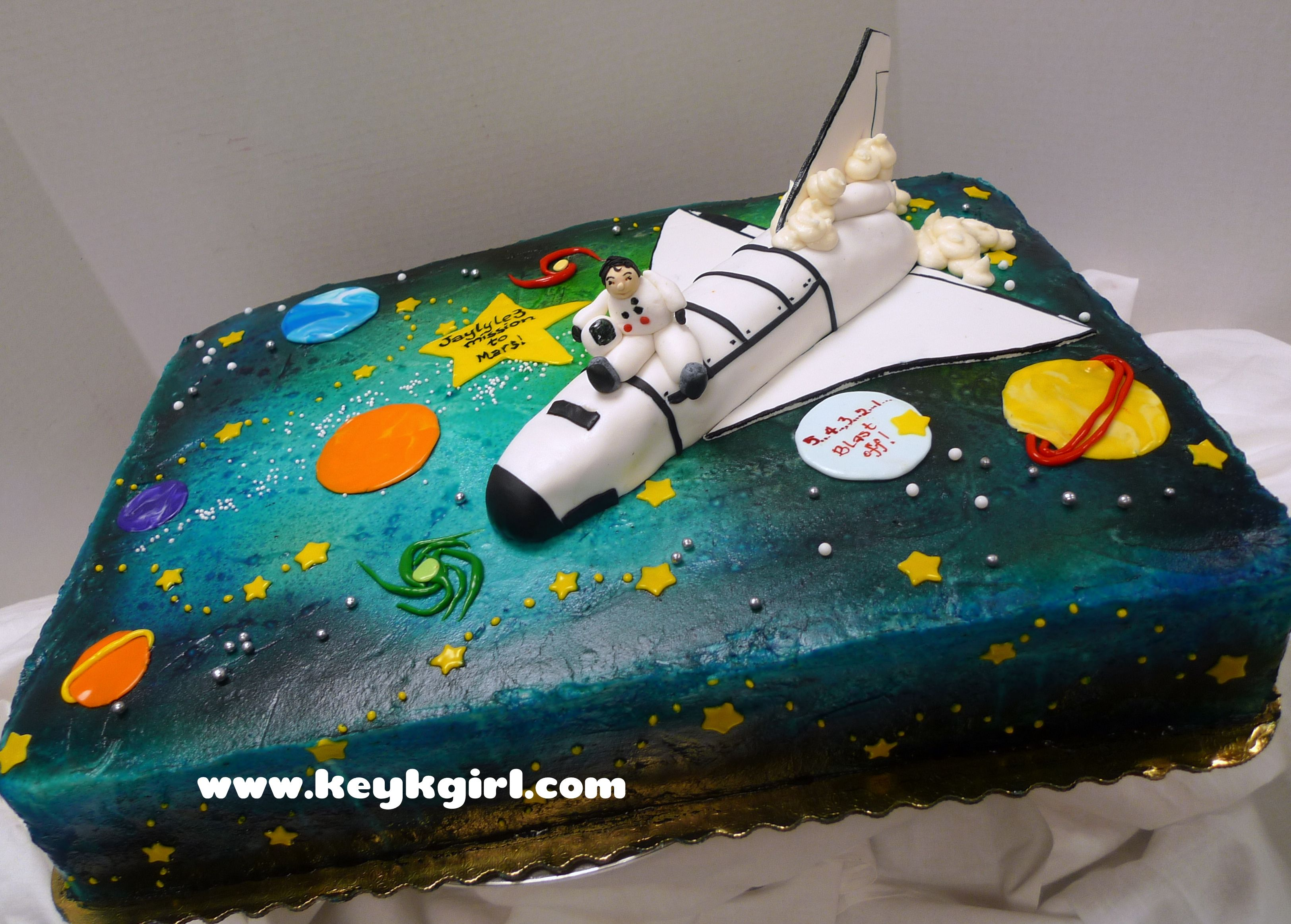 Astronaut Cake Decorations Page 2