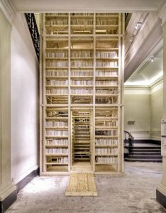 story climb inside book tower    begging michael for this also random stuff pinterest shelves books and rh