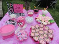Girl Baby Shower Food | Baby Shower Sweet Treats | Baby ...