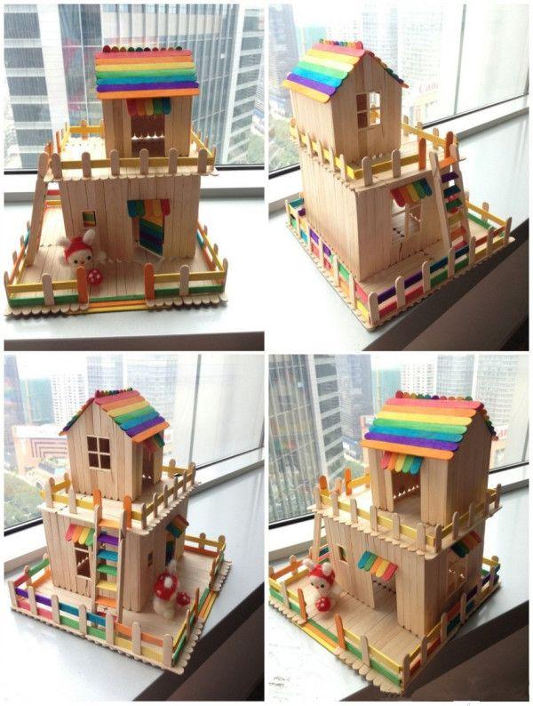 Amazingly #beautiful And #cute #DIY #rainbow #ice Cream #stick