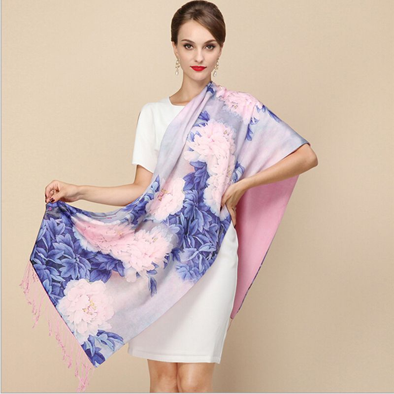 Cheap brand silk scarf, Buy Quality silk brand scarf