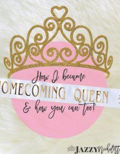 high school homecoming queen poster ideas