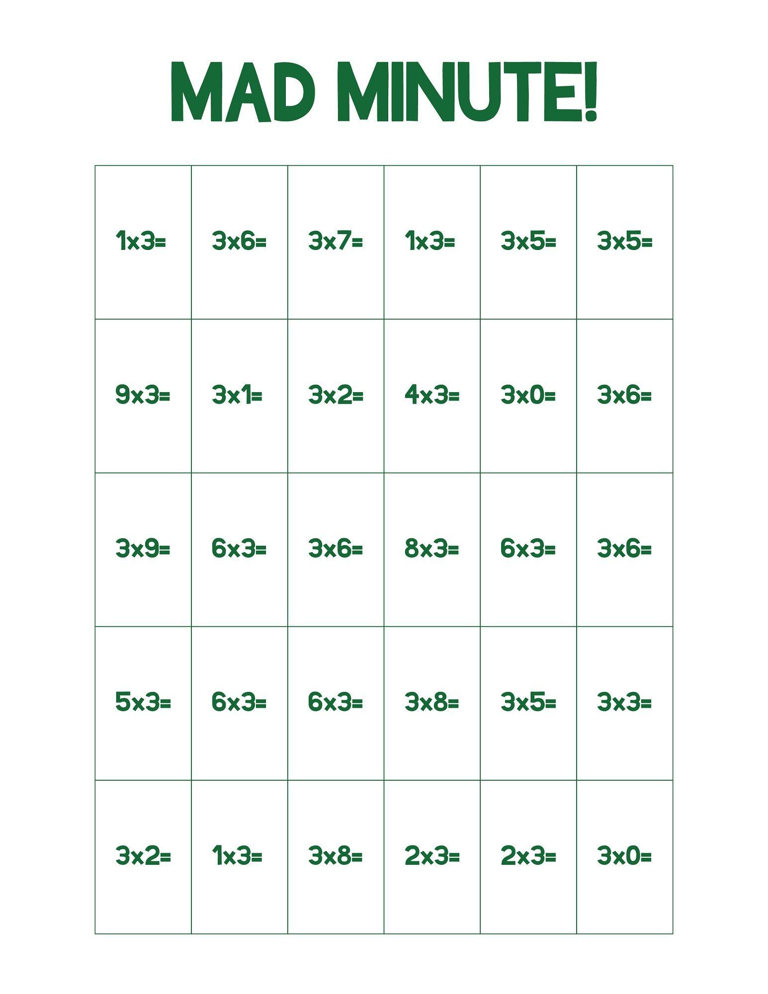 Fun Math Sheets To Print