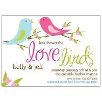 Love Birds Bridal Shower Invitations   Shower Ideas ...