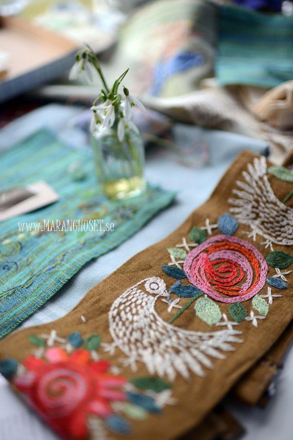 Vintage Folk Embroidery Designs
