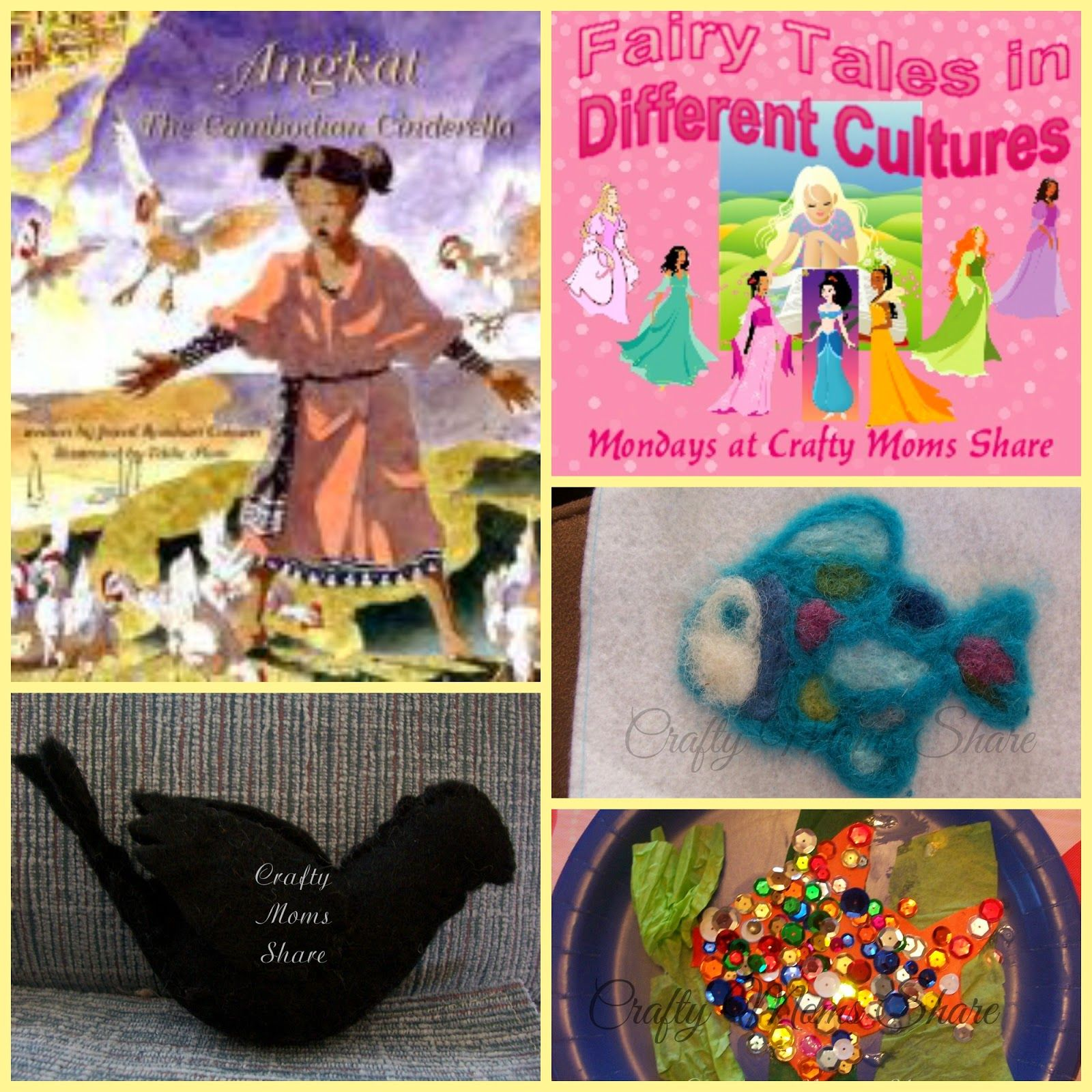Crafty Moms Share Fairy Tales In Different Cultures
