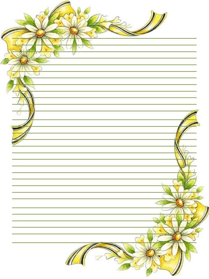Printable Stationary  Journal page  letter  Borders Frames Stationary  Tags Printable