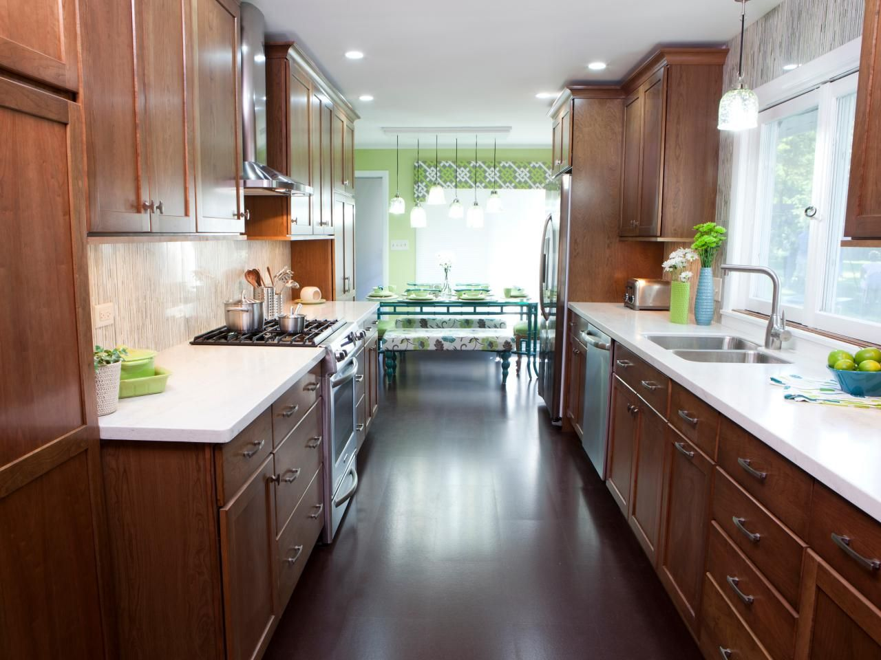 Galley Kitchens, Galley Style