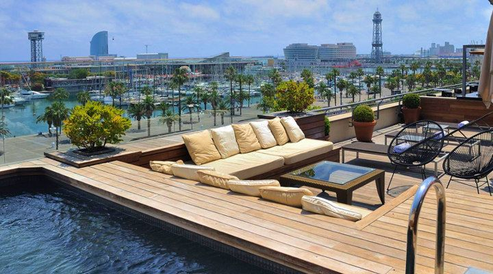 luxurious hotel roof top terrace  Google Search  New