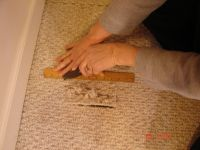 How To Repair Carpet Holes and Tears | Carpets, You are ...