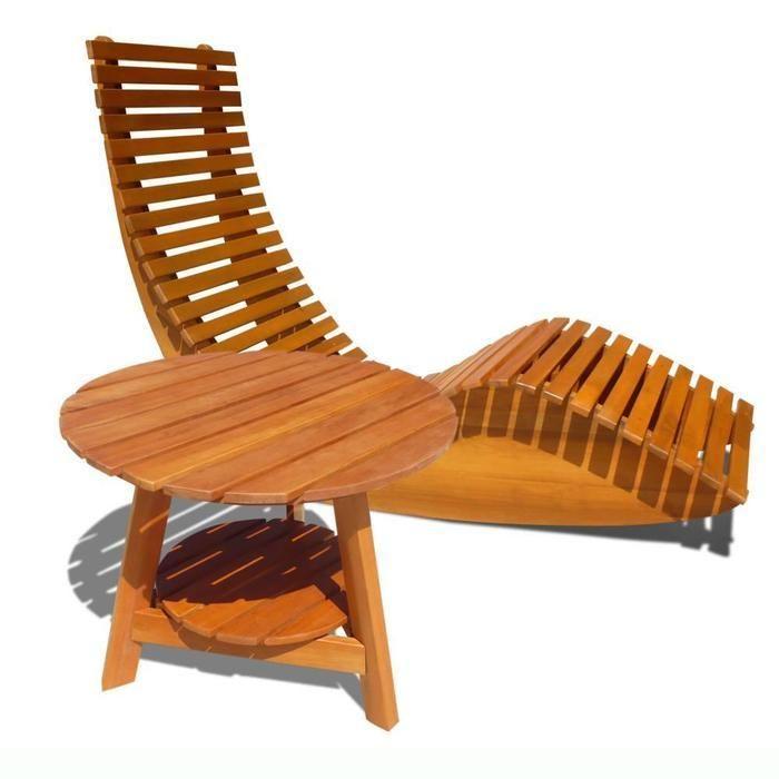 outdoor wood rocking chair  DIY  Pinterest  Rocking
