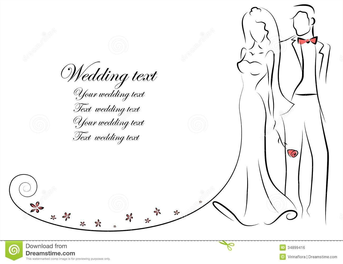 Bride And Groom Silhouette Free Clipart