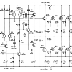 5000 Watt Amplifier Circuit Diagram 2003 Ford Taurus Exhaust 400w High Power Mosfet Amp