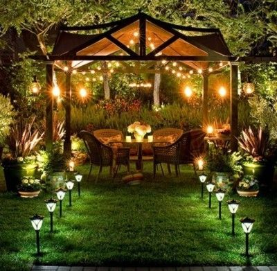 Every Good Garden Must Have Great Night Lighting For Evening