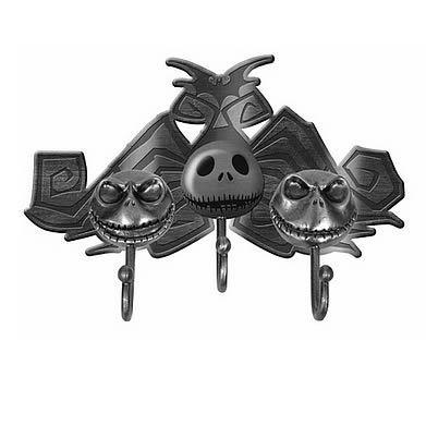 Nightmare Before Christmas Jack Metal Key Hooks Nightmare Before