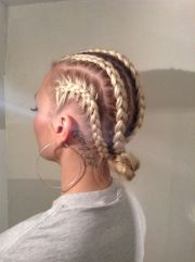 dope white girl braids natural